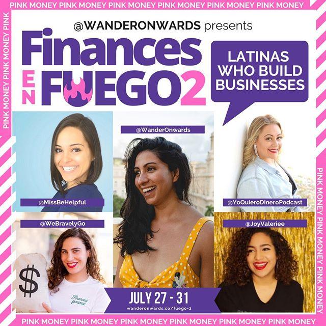 Photo of LIVE EVENT: Finances En Fuego 2 – July 27-31, 2020