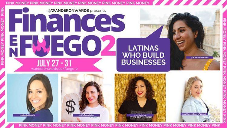 LIVE EVENT: Finances En Fuego 2: Latinas Who Build Businesses